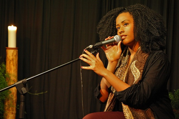 Young Afro-American Singer | CLAIM YOUR VOICE article by Kara Johnstad