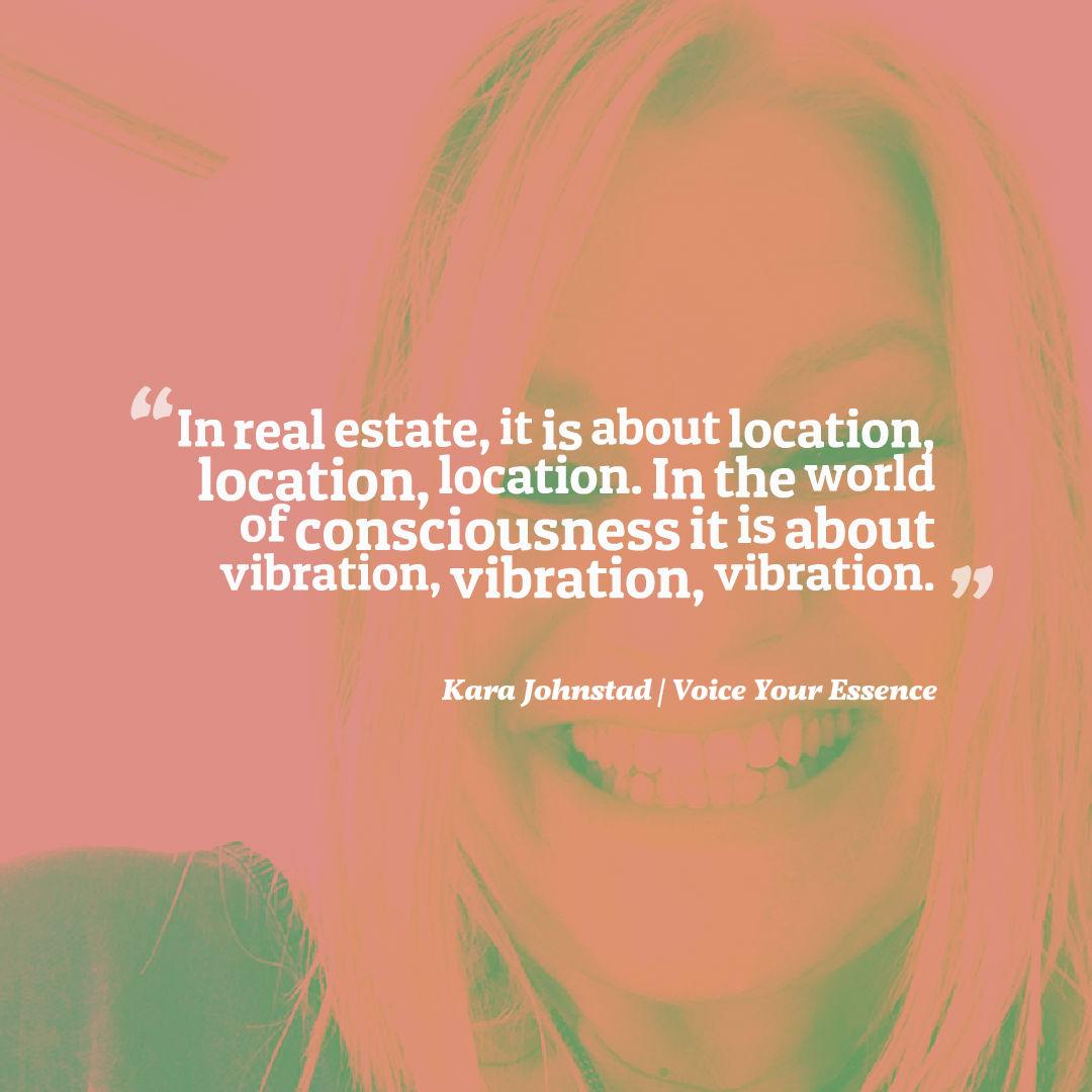 Consciousness is Vibration, Vibration, Vibration