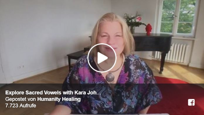 Explore Sacred Vowels With Kara