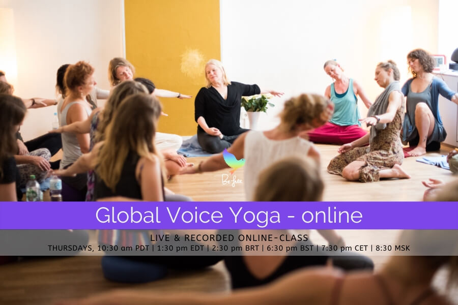 Global Voice Yoga - online