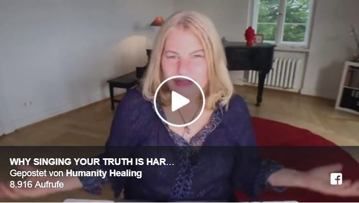 Why Singing Your Truth is Harder Than Speaking It Live Stream