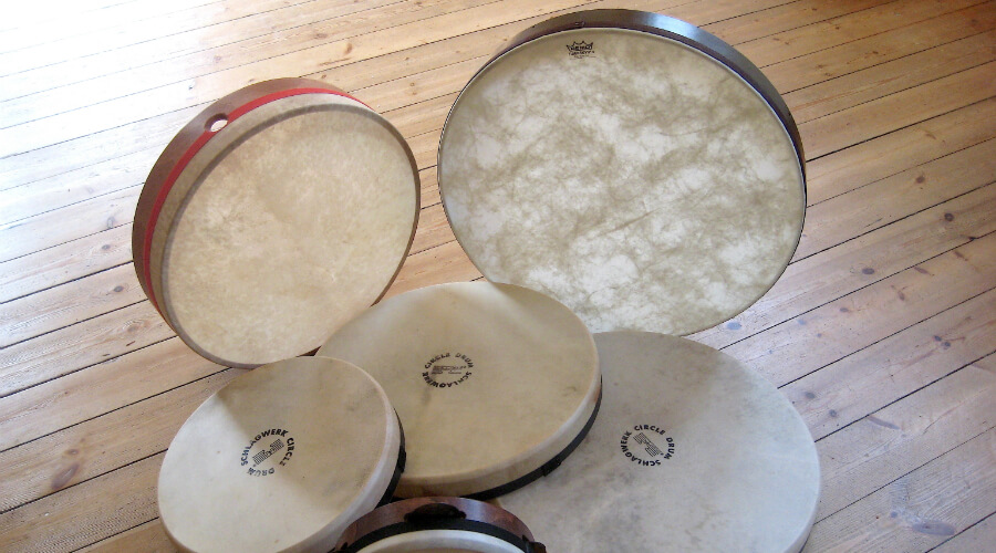 Workshop: Frame Drumming for Beginners<br>Oct 13 - 14