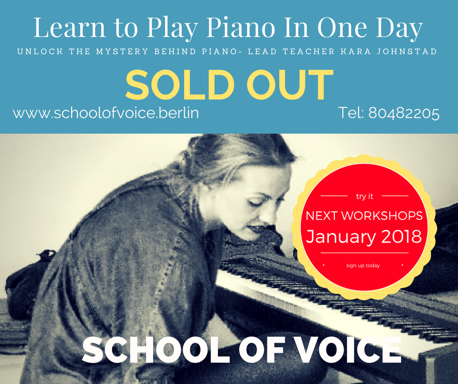 Learn to Play Piano in One Day - with Kara Johnstad on March 12, 2017