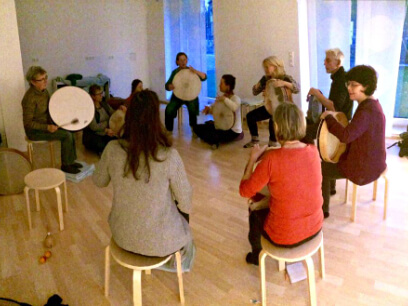 Frame Drumming Workshop with Borys Slowikowski at School Of Voice | www.schoolofvoice.berlin