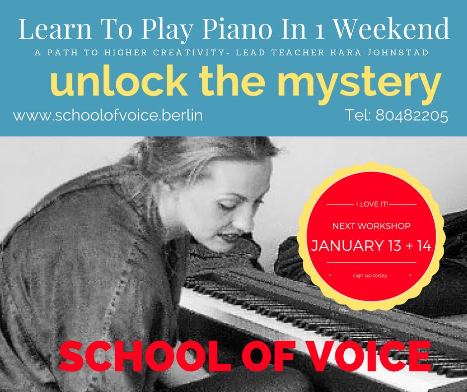 Workshop:<br/>Learn to Play Piano in 1 Weekend