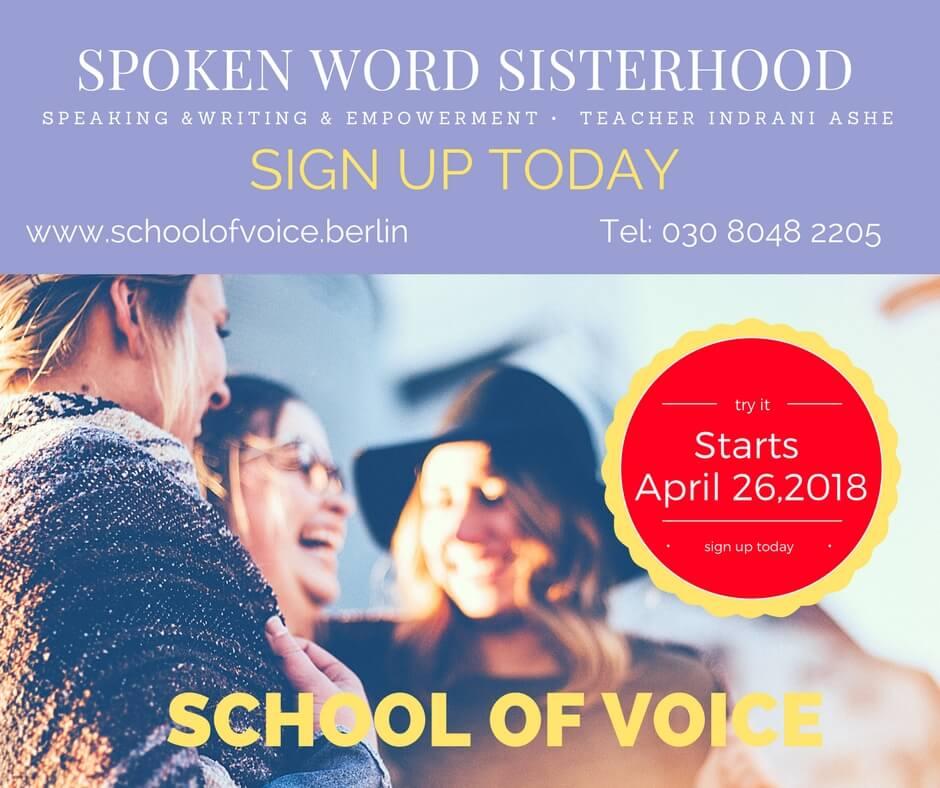 Course: Spoken Word Sisterhood