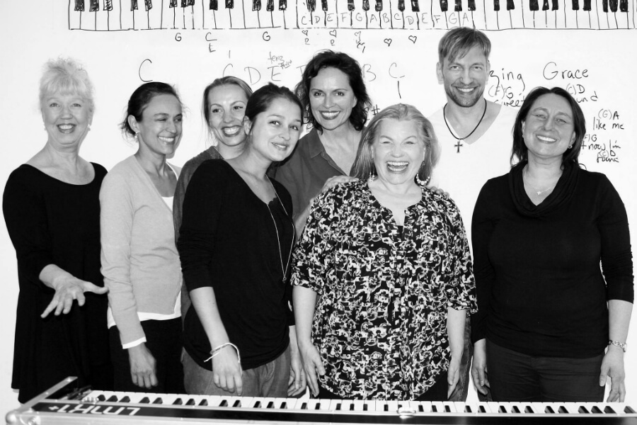 Songwriting Workshop at School Of Voice in Berlin - Kara Johnstad