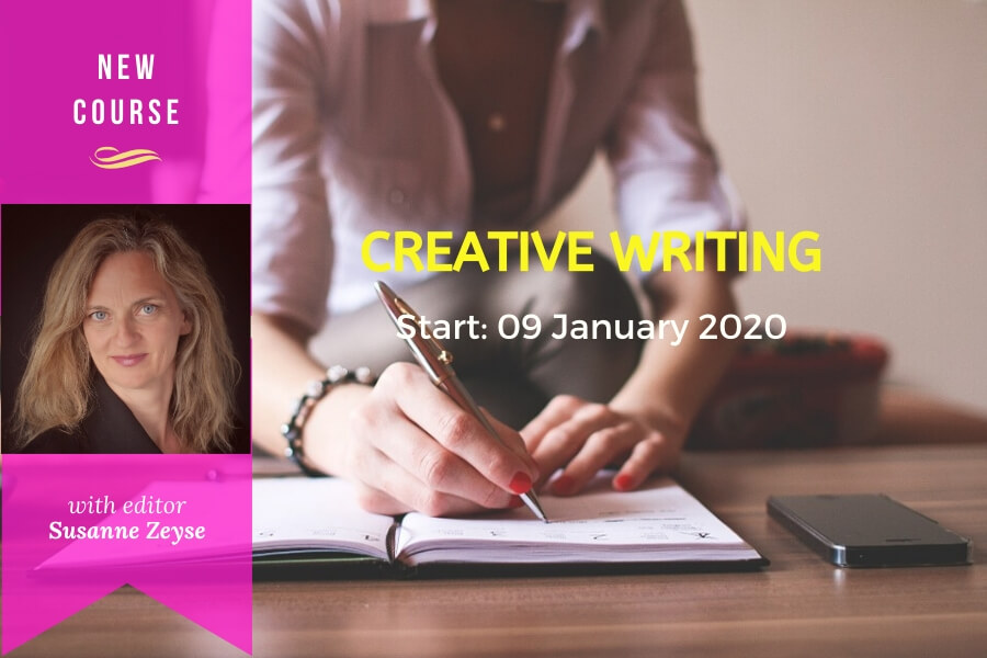 Course: CREATIVE WRITING with editor Susanne Zeyse | schoolofvoice.berlin