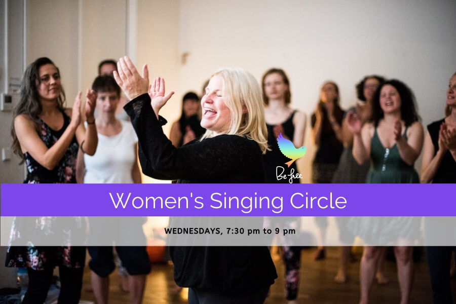 Women's Singing Circle with Kara Johnstad | www.schoolofvoice.berlin